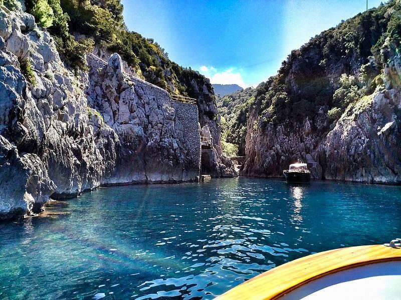 Minicrociera tre giorni Capri-Positano-Sorrento