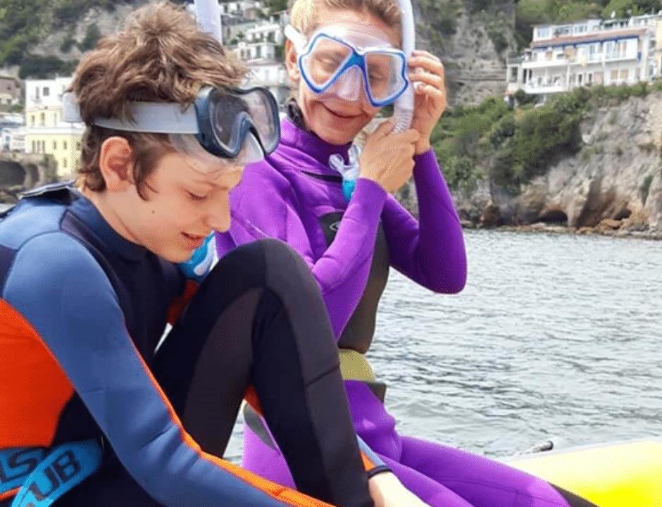 immersioni subacque città sommersa di Baia