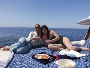 Luxury minicrociere golfo di Napoli